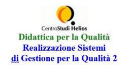 SGQ2: Realizzazione Sistemi di Gestione per la Qualità 2