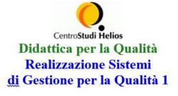 SGQ1: Realizzazione Sistemi di Gestione per la Qualità 1